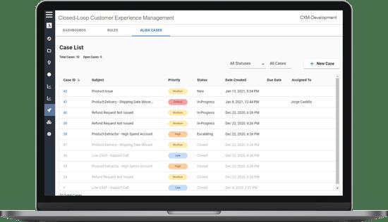 Alida-CXM-Case-Management-Screenshot-1