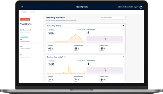 Alida-Touchpoint-Dashboard