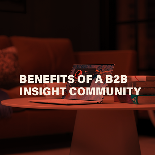 Benefits of a B2B Insight Community