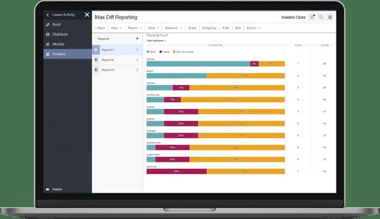 Surveys-MaxDiff-Reporting