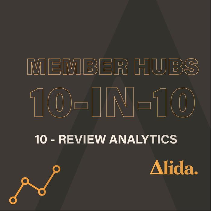 Member Hubs: Review Analytics